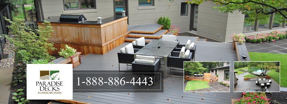 Contact Paradise Decks and Landscape Design